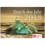 """Jahreskalender: """"Durch das Jahr 2018"""""""