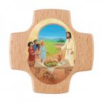"""Erstkommunionkreuz """"Jesus wo wohnst Du?"""""""