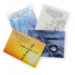Kartenset: Kondolenzkarten