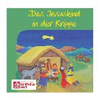 """Mini-Bilderbuch: """"Das Jesuskind in der Krippe"""""""