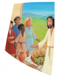 """NEU: Wachsauflage Motiv """"Jesus wo wohnst Du"""""""
