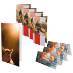 Weihnachtskarten-Set: 8-teilig