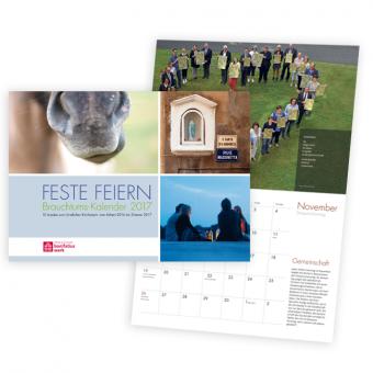 """Wandkalender """"Feste feiern"""" Sonderpreis"""