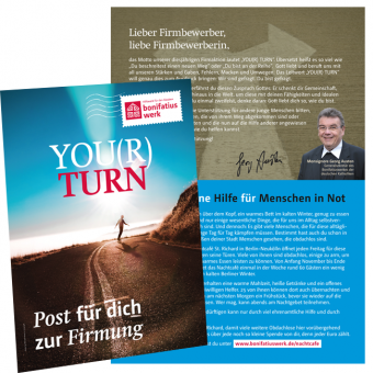 "Brief an die Firmlinge zur Firmaktion 2019 ""YOU(R) TURN"""