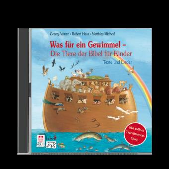 """CD """"Was für ein Gewimmel – Die Tiere der Bibel"""""""