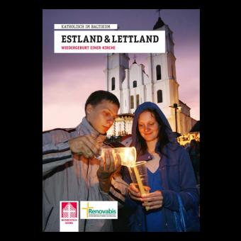 """Broschüre """"Estland und Lettland – Wiedergeburt einer Kirche"""""""
