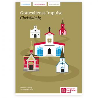"""Heft """"Gottesdienstimpulse"""" zur Diaspora-Aktion 2016"""