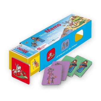 Kartenlegespiel: Mein Memo von den Heiligen