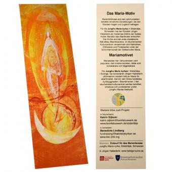 Lesezeichen - Motiv Marienfenster Södertälje