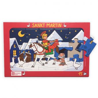 "Rahmenpuzzle: ""Sankt Martin"""