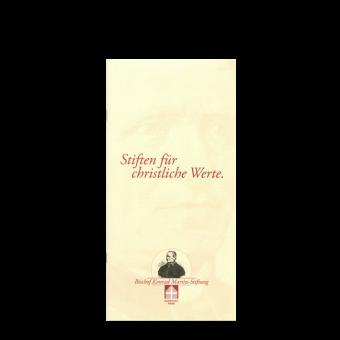 """Broschüre """"Stiften für christliche Werte"""""""