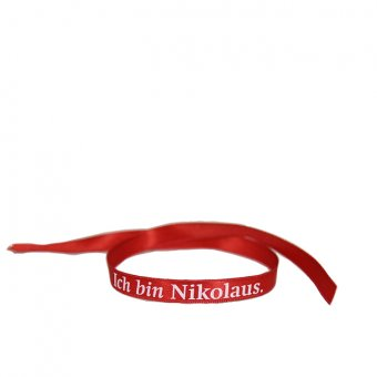 "Armband ""Ich bin Nikolaus"""