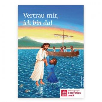 Motivplakat zur Erstkommunion 2021
