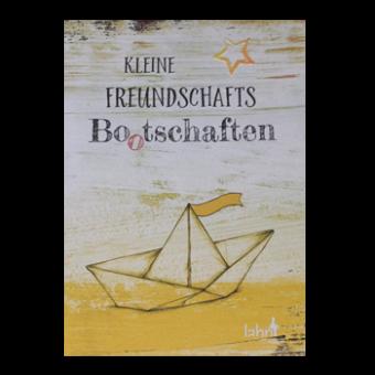 """Geschenkheft """"Kleine Freundschafts-Bo(o)tschaften"""""""