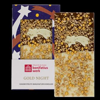 """Weihnachts-Schokolade """"Gold Night"""""""