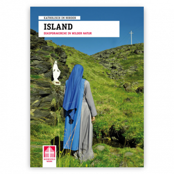 """Broschüre """"Island – Diaspora-Kirche in wilder Natur"""""""