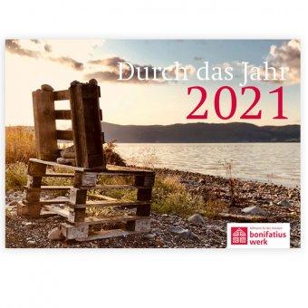 """Jahreskalender """"Durch das Jahr 2021"""""""