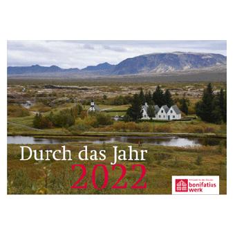 """Jahreskalender """"Durch das Jahr 2022"""""""