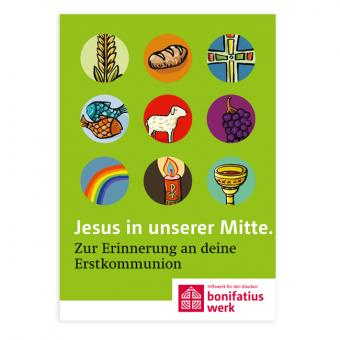 """10er Set Mini-Broschüre: """"Jesus in unserer Mitte"""""""