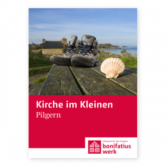 """Kirche im Kleinen (25er Paket): """"Pilgern"""""""