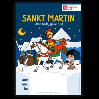 Veranstaltungsplakat Sankt Martin