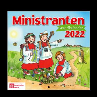 "Wandkalender ""Ministranten-Kalender 2022"""