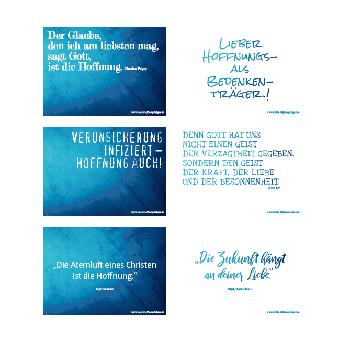 "Postkarten-Set ""Hoffnungsworte"""