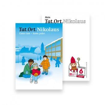 "Postkarte ""Tat.Ort.Nikolaus"""