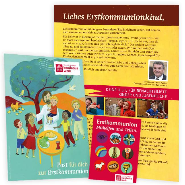 Brief an die Erstkommunionkinder 2019