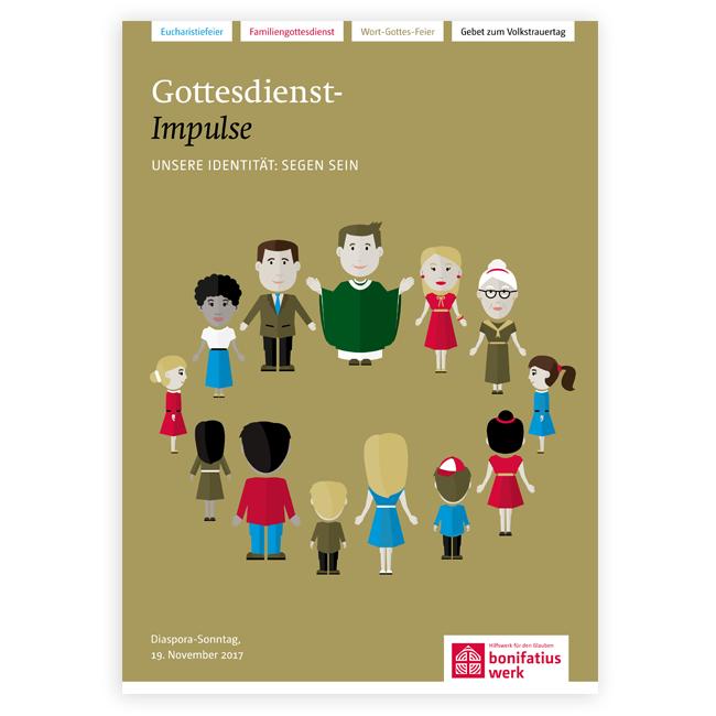 """Heft """"Gottesdienstimpulse"""" zur Diaspora-Aktion 2017"""