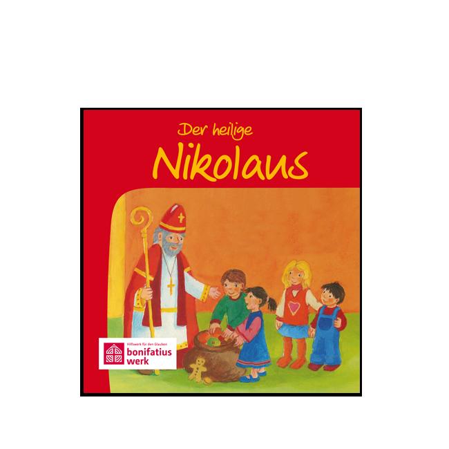 """Mini-Bilderbuch """"Der heilige Nikolaus"""""""
