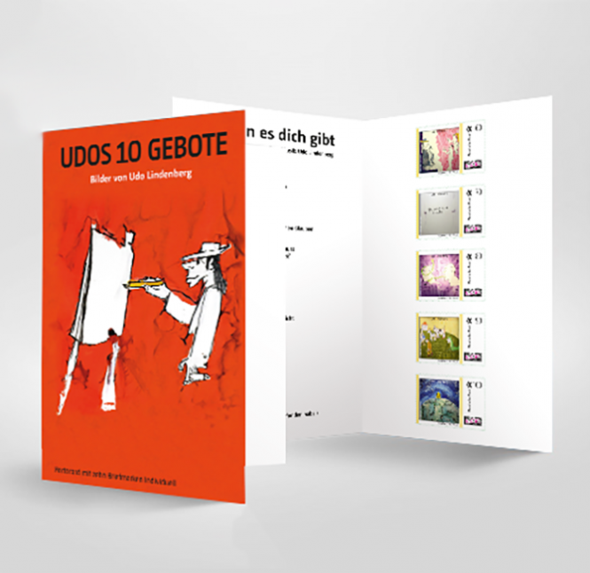 Briefmarkenheft 10er Udos 10 Gebote