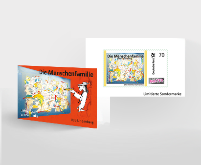 Sonderbriefmarke 1er Udos 10 Gebote - LEIDER BEREITS VERGRIFFEN!!!