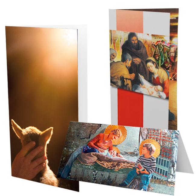 Weihnachtskarten-Set A